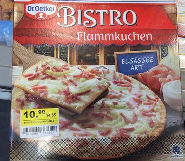 BISTRO Flammkuchen ELSÄSSER ART