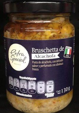 BRUSCHETTA DE ALCACHOFA