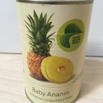 Baby Ananas tranches