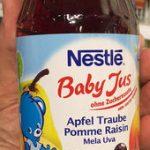 Baby Jus Pomme Raisin