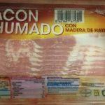 Bacon Ahumado con Madera de Haya