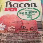 Bacon fumé