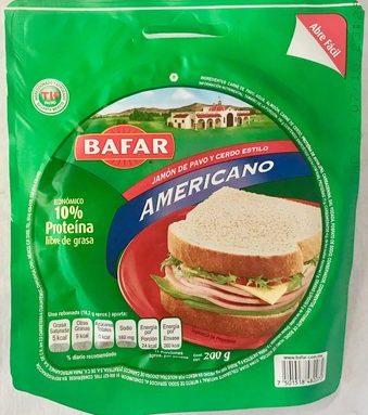 Bafar Jamón Americano
