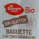 Baguette con trigo sarraceno