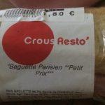 Baguette parisien