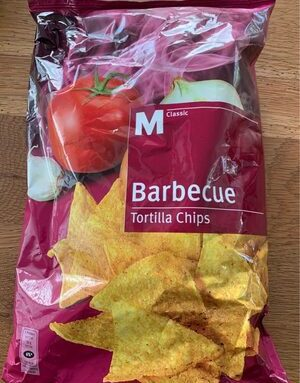 Barbecue Tortilla Chips à l'huile de palme