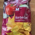 Barbecue Tortilla Chips à l'huile de palme