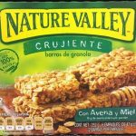 Barras de granola con avena y miel