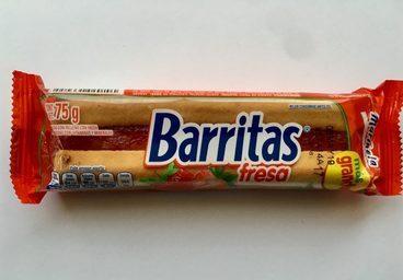 Barritas Fresa Marinela