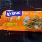 Barritas de surimi refrigeradas