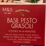 Basilic pesto girasoli