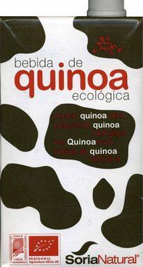 """Bebida de quinoa ecológica """"Soria Natural"""""""