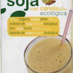 "Bebida de soja ecológica ""Soria Natural"" con canela al limón"