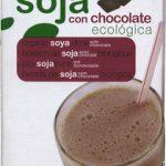"Bebida de soja ecológica ""Soria Natural"" con chocolate"