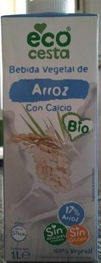 Bebida vegetal de arroz con calcio