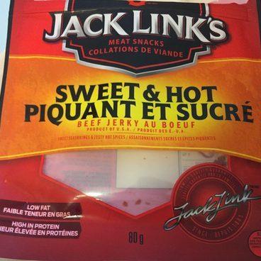 Beef jerky au boeuf / Sweet & hot