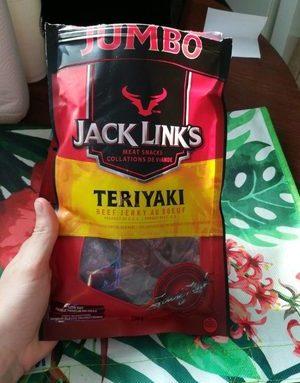 Beef jerky teriyaki