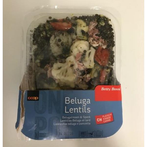 Beluga lentils