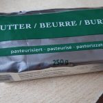 Beurre pasteurisé