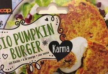 Bio Pumkin Burger