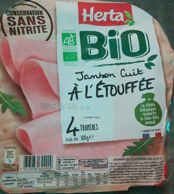 Bio jambon cuit a l'etouffée