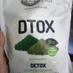 Bio plus dtox chlorella y espirulina polvo ecológico