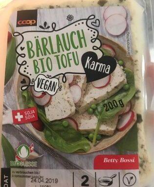 Bio tofu ail des ours