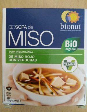 Biosopa de Miso