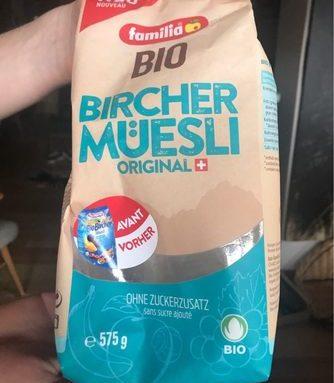 Bircher Muesli Original Bio