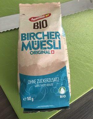 Bircher müsli original bio