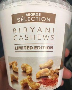 Biryani cashews