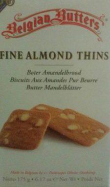 Biscuit au Amande pure beurre