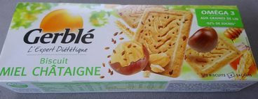Biscuit miel chataigne