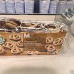 Biscuits à la vanille avec du chocolat au lait