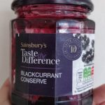 Blackcurrant Conserve