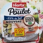 Blanc de poulet -25% de sel