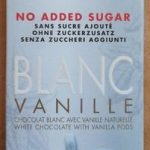 Blanc vanille no added sugar