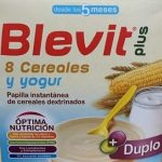 Blevit Plus 8 cereales y yogur