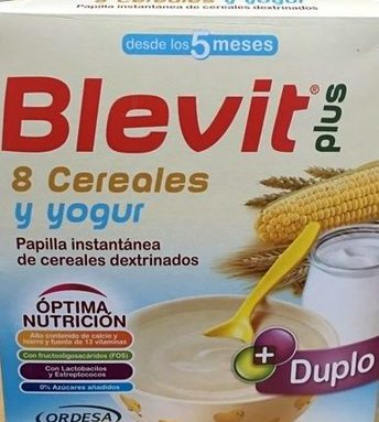 Blevit Plus 8 cereales y yogur