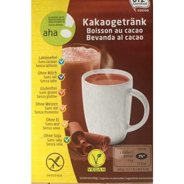 Boisson au cacao aha