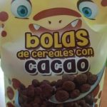 Bolas de cereales con cacao