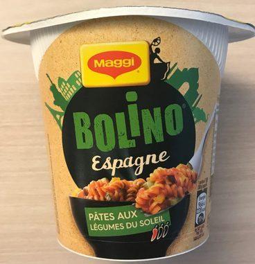 Bolino Espagne Pâtes aux Légumes du soleil