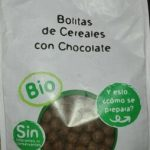 Bolitas de cereales con chocolate