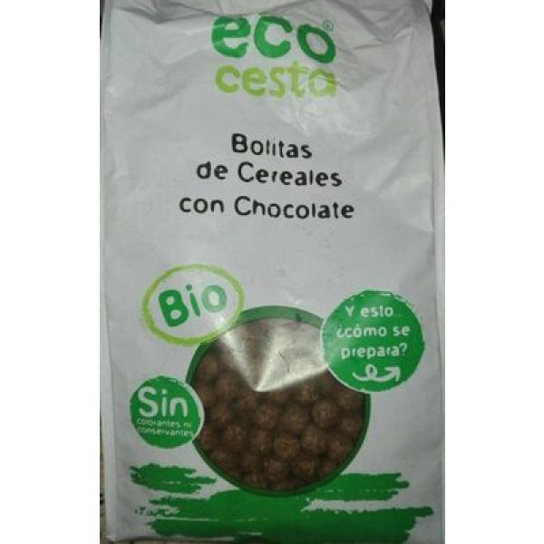 Bolitas de cereales con chocolate