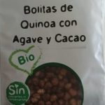 Bolitas de quinoa con agave y cacao
