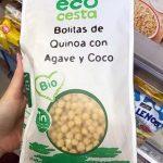 Bolitas de quinoa con agave y coco