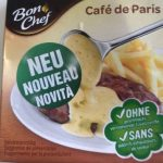 Bon chef Cafe de Paris
