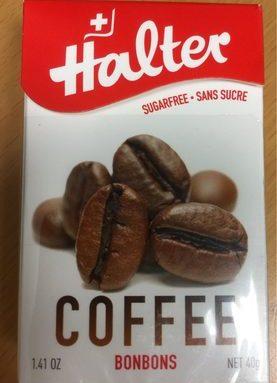 Bonbon Halter Sans Sucre Cafe
