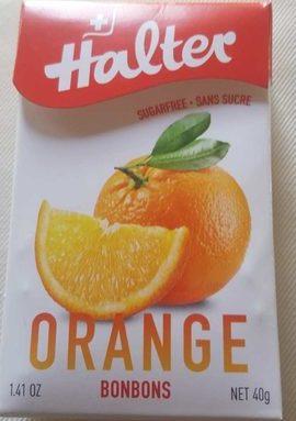 Bonbon Halter Sans Sucre Orange