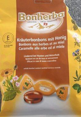 Bonbons aux herbes et au miel